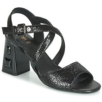 Topánky Ženy Sandále Geox D SEYLA S. HIGH PLUS Čierna