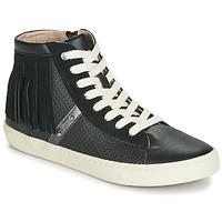 Topánky Dievčatá Členkové tenisky Geox J KILWI GIRL Čierna
