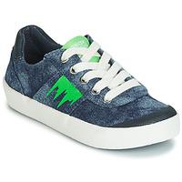 Topánky Chlapci Nízke tenisky Geox J KILWI BOY Modrá / Zelená
