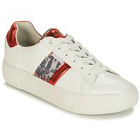 Topánky Ženy Nízke tenisky Refresh 69954 Biela / Červená