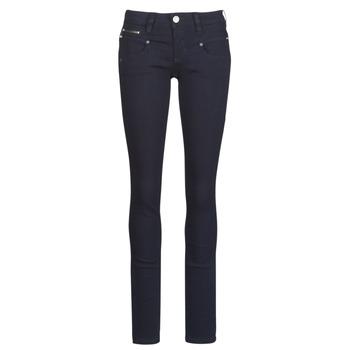 Oblečenie Ženy Džínsy Slim Freeman T.Porter Alexa Slim S-SDM Námornícka modrá
