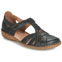 Topánky Ženy Sandále Josef Seibel ROSALIE 29 Čierna