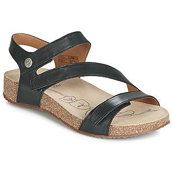 Topánky Ženy Sandále Josef Seibel TONGA 25 Čierna