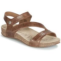 Topánky Ženy Sandále Josef Seibel TONGA 25 Hnedá