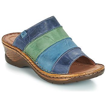 Topánky Ženy Šľapky Josef Seibel CATALONIA 64 Modrá