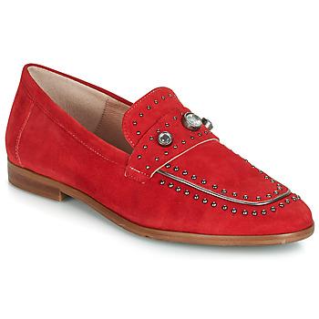 Topánky Ženy Mokasíny Dorking 7782 Červená