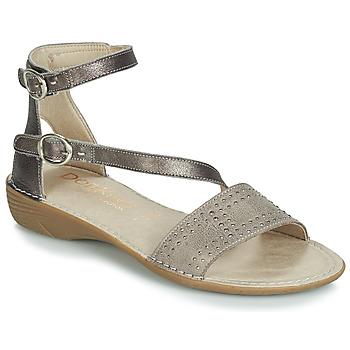 Topánky Ženy Sandále Dorking 7863 Šedá