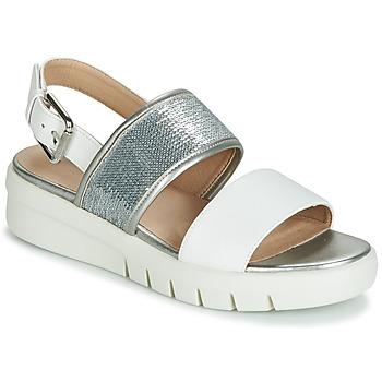 Topánky Ženy Sandále Geox WIMBLEY SAND Biela