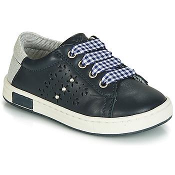 Topánky Dievčatá Nízke tenisky Chicco CLARETTA Námornícka modrá / Vichy