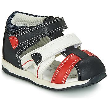 Topánky Chlapci Sandále Chicco GABRIEL Modrá / Biela / Červená