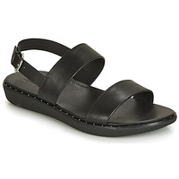 Topánky Ženy Sandále FitFlop BARRA Čierna