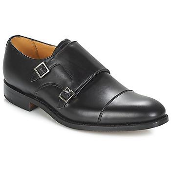 Topánky Muži Richelieu Barker TUNSTALL Čierna