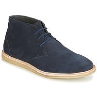 Topánky Muži Polokozačky Frank Wright BAXTER Modrá