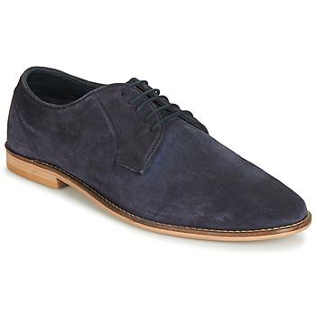 Topánky Muži Derbie Frank Wright FINLAY Modrá
