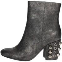 Topánky Ženy Čižmičky Luciano Barachini BB242V Charcoal grey