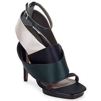Topánky Ženy Sandále Kallisté NU-PIED 5801 Strieborná