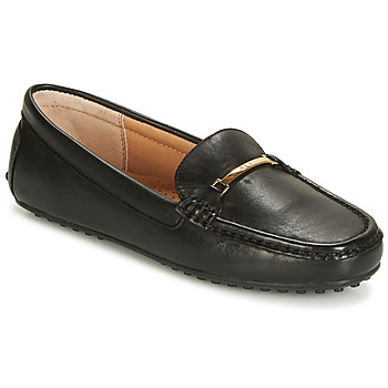 Topánky Ženy Mokasíny Lauren Ralph Lauren BRIONY Čierna