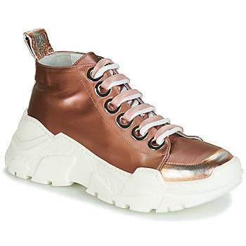 Topánky Ženy Nízke tenisky Fru.it 5390-850 Bronzová