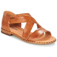Topánky Ženy Sandále Pikolinos ALGAR W0X Ťavia hnedá