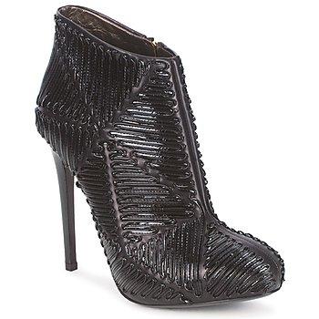 Topánky Ženy Čižmičky Roberto Cavalli QPS566-PN018 Čierna