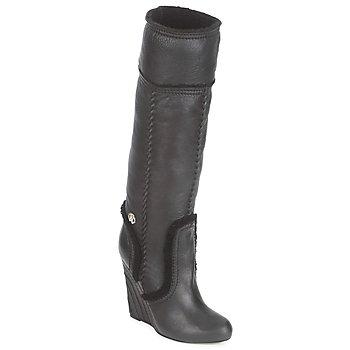 Topánky Ženy Čižmy do mesta Roberto Cavalli QDS598-PJ007 Čierna