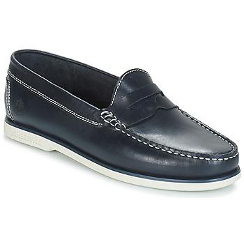 Topánky Muži Mokasíny Lumberjack NAVIGATOR Námornícka modrá