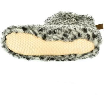 Topánky Ženy Papuče John-C Dámske sivé bamboše Alojz sivá