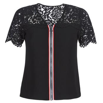 Oblečenie Ženy Blúzky Morgan OSALI Čierna