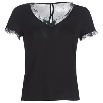 Oblečenie Ženy Tričká s krátkym rukávom Morgan DMINOL Čierna