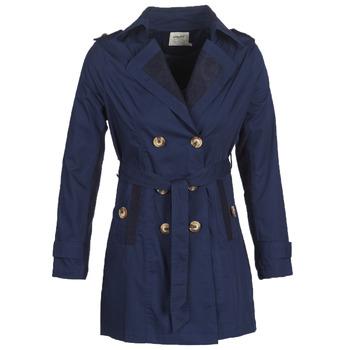 Oblečenie Ženy Kabátiky Trenchcoat Smash ANNABEL Námornícka modrá