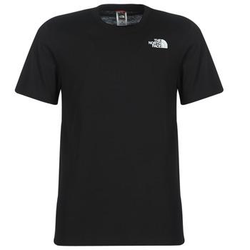 Oblečenie Muži Tričká s krátkym rukávom The North Face MEN'S S/S REDBOX TEE Čierna