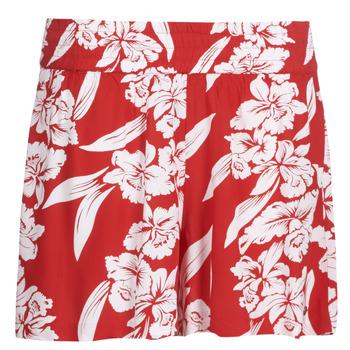 Oblečenie Ženy Šortky a bermudy Volcom ALOHA HA SHORT Červená
