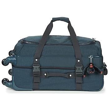 Tašky Pružné cestovné kufre Kipling CYRAH M Námornícka modrá
