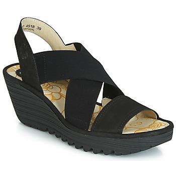 Topánky Ženy Lodičky Fly London YAJI Čierna