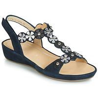 Topánky Ženy Sandále Ara CAP-HS Čierna
