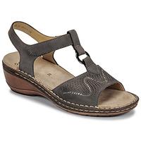 Topánky Ženy Sandále Ara KEY-WE Hnedá