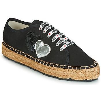 Topánky Ženy Espadrilky Love Moschino JA10263G07 Čierna