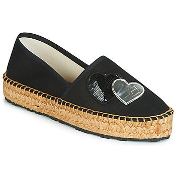 Topánky Ženy Espadrilky Love Moschino JA10243G07 Čierna