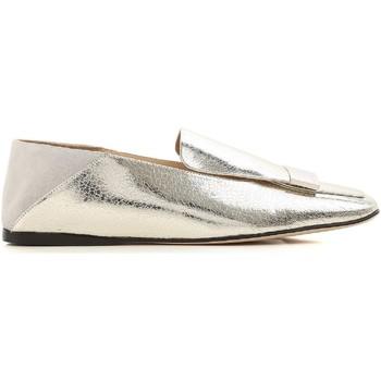 Topánky Ženy Mokasíny Sergio Rossi A77990 MFN305 8198 argento