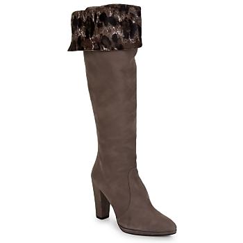 Topánky Ženy Čižmy do mesta Stuart Weitzman ZOOKEEPER Šedá kamenná