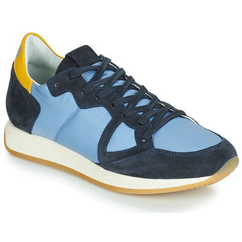 Topánky Ženy Nízke tenisky Philippe Model MONACO VINTAGE BASIC Modrá / Žltá