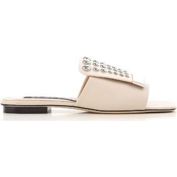 Topánky Ženy športové šľapky Sergio Rossi A80380 MFN205 9179 Nudo