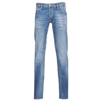 Oblečenie Muži Džínsy Slim Le Temps des Cerises 711 Modrá / Medium