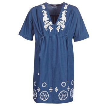 Oblečenie Ženy Krátke šaty Desigual ELECTRA Námornícka modrá