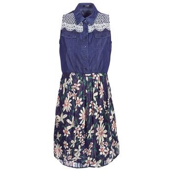 31107b69523d Oblečenie Ženy Krátke šaty Desigual ALOHA Námornícka modrá