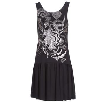 Oblečenie Ženy Krátke šaty Desigual OMAHAS Čierna