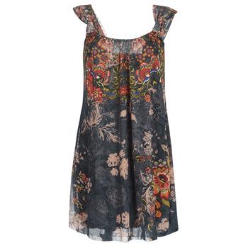 Oblečenie Ženy Krátke šaty Desigual NIELS Námornícka modrá