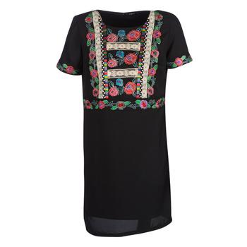 Oblečenie Ženy Krátke šaty Desigual TRALEE Čierna