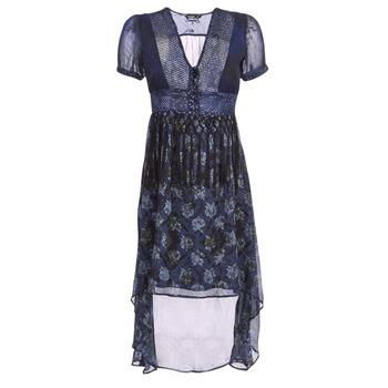 Oblečenie Ženy Dlhé šaty Desigual MINALI Námornícka modrá