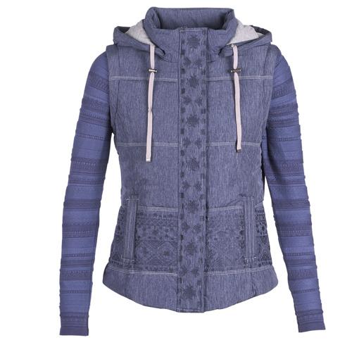Oblečenie Ženy Vyteplené bundy Desigual GABRIELLE Námornícka modrá